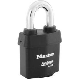 "Master Lock® ProSeries® Solid Steel IC Padlock, 2-5/8""W, No. 6427WO - Pkg Qty 6"