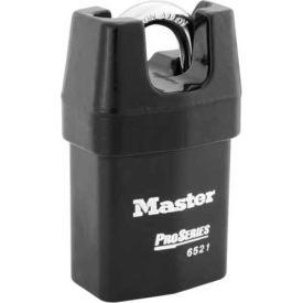 "Master Lock® ProSeries® Solid Steel IC Padlock, 2-1/8""W, No. 6521WO - Pkg Qty 6"