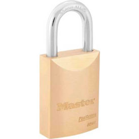 "Master Lock® No. 6841WO ProSeries®  Brass IC Padlock 1-3/4""W, Pkg 24 - Pkg Qty 6"