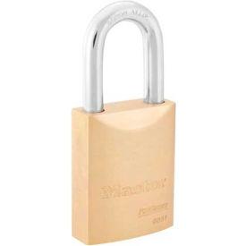 "Master Lock® ProSeries® Brass IC Padlock; 2""W, No. 6851WO - Pkg Qty 6"