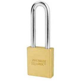 American Lock® Solid Brass Key In Knob Padlock Without Cylinder - No A3702wo - Pkg Qty 24