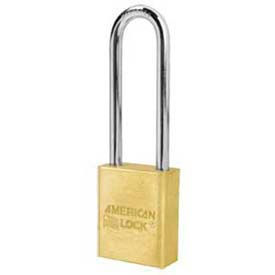 American Lock® Solid Brass Rectangular Padlock Wo Cylinder-No A5532wo - Pkg Qty 24