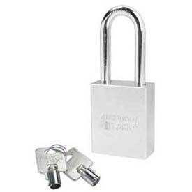 American Lock® Solid Steel Tubular Cylinder Padlock Without Cylinder - No A7201wo - Pkg Qty 24