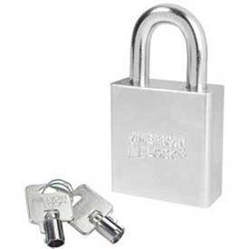 American Lock® Solid Steel Tubular Cylinder Padlock - No A7260 - Pkg Qty 24