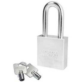 American Lock® Solid Steel Tubular Cylinder Padlock - No A7261 - Pkg Qty 24