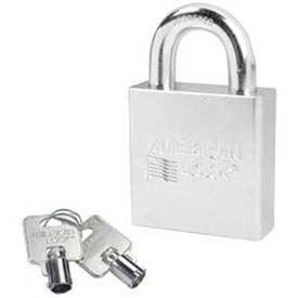 American Lock® Solid Steel Tubular Cylinder Padlock - No A7300 - Pkg Qty 24