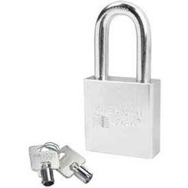 American Lock® Solid Steel Tubular Cylinder Padlock - No A7301 - Pkg Qty 24