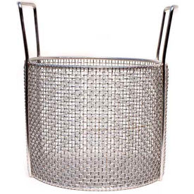 Marlin Steel Stainless Mesh Baskets Usable 10x8, Round, #4 Mesh, Price Each for Qty 1-4