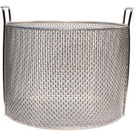 Marlin Steel Stainless Mesh Baskets 14x10, Round, #4 Mesh, Price Each for Qty 5+