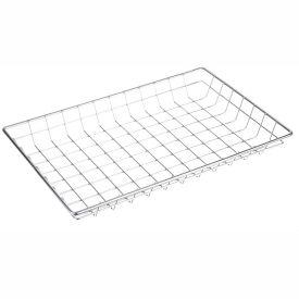 "Marlin Steel Nesting Basket 128-12 - Chrome Plated Steel - 18""L x 2""W x 12""H"