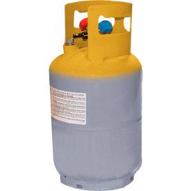 "Mastercool® 62010-60PK 30 lb D.O.T. Refrigerant Recovery Tank W/O Float Switch 1/4"" FL-M 60 pk"