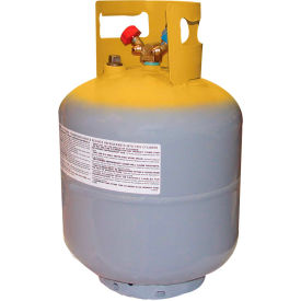 """Mastercool® 65010 50 lb. D.O.T. Refrigerant Recovery Tank With Float Switch 1/4"""" FL-M"""