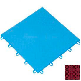 "Mateflex ProGym Multi-Sport Indoor Tile 363322, 12""L X 12""W, Terra Cotta Red"