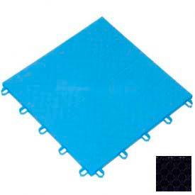 "Mateflex ProGym Multi-Sport Indoor Tile 363362, 12""L X 12""W, Black"