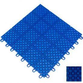 "Mateflex HomeCourt Multi-Sport Outdoor Tile 451346, 12""L X 12""W, Performance Blue"