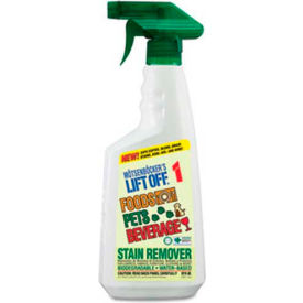 Lift Off® #1 Food/Beverage/Pet Stain Remover, 22 Oz, Spray 6/Case - MOT40501CT