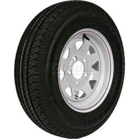 Martin Wheel 175/80R-13 Radial Trailer Tire & Custom Spoke Wheel Assembly DM175R3C-5C-I