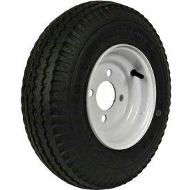 "Martin Wheel 480/400-8 LRB Trailer Tire & Wheel Assembly - Bolt Circle 4"" x 4"" - DM408B-4I"