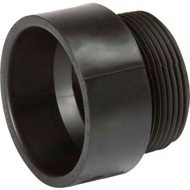 Mueller 02927 1-1/2 In. ABS Male Adapter - Hub X MPT