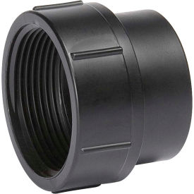 Mueller 03148 6 In. ABS Cleanout Adapter - Spigot X FPT