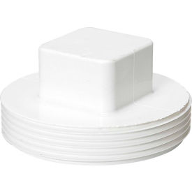 Mueller 05937 1-1/4 In. PVC Cleanout Plug - Male Pipe Thread