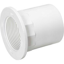 Mueller 06014 1-1/2 In. PVC Tray Plug Adapter - Hub X National Pipe Thread