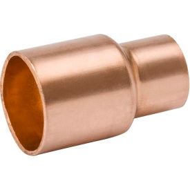Mueller W 01021 3/8 In. X 1/8 In. Wrot Copper Reducing Coupling - Copper