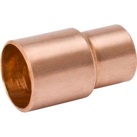Pipe Fittings Copper Mueller W 01317 1 2 In X 1 4 In Wrot Copper Reducer Coupling Street X Copper B1920414 Globalindustrial Com