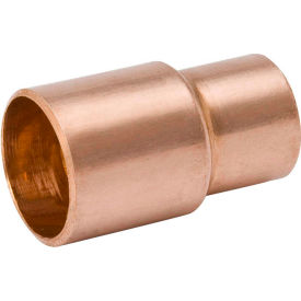 Mueller W 01390 5 In. X 4 In. Wrot Copper Reducer Coupling - Street X Copper