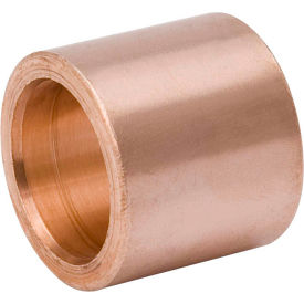 Mueller W 01720 5/8 In. X 1/2 In. Wrot Copper Flush Bushing - Street X Copper