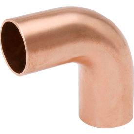 Mueller W 02626 1/2 In. Wrot Copper 90 Degree Long Radius Elbow - Street X Street