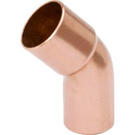Mueller W 03363 2-1/2 In. Wrot Copper 45 Degree Street Elbow - Street X Copper