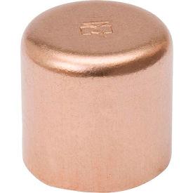 Mueller W 07008 5/8 In. Wrot Copper Cap - Copper