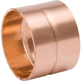 Mueller W 70107 4 In. Wrot Copper DWV Coupling - Copper