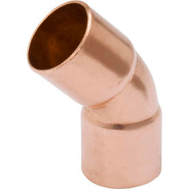 Mueller WB03044 1 In. Wrot Copper 45 Degree Elbow - Copper