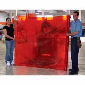 Insta-Curtain Welding Curtain, Orange 5 Yards - CIWV-6407-05