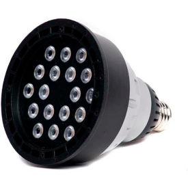 Moon Visions 22W 5K NFL 120VBR40-U-BZT 22W 120V Cool White Narrow Flood LED Uplight-Bronze Texture