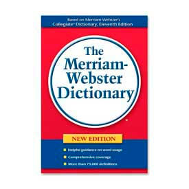 Merriam-Webster Paperback Dictionary, 1 Each