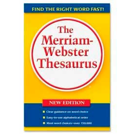 Merriam-Webster Paperback Thesaurus, 1 Each