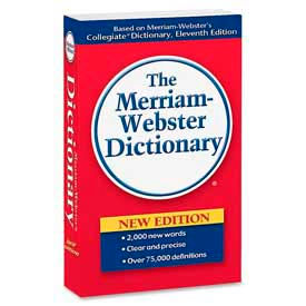 Merriam-Webster Paperback Dictionary, 11th Edition, 1 Each