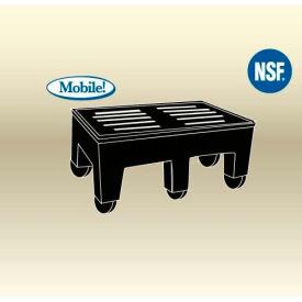 "MasonWays™ 182216 HDC PolyMight Dunnage Rack W/Casters 18""W x 22""D x 12""H, 750 Lbs. Capacity - Pkg Qty 4"