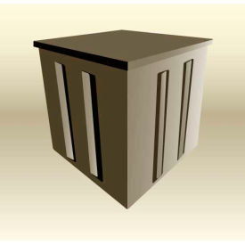 "MasonWays™ 200-242424 Display Cubes 24""W x 24""D x 24""H, 250 Lbs. Capacity"
