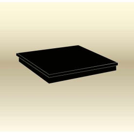 "MasonWays™ 24244 Spot Merchandiser Solid Top Display Base 24""W x 24""D x 4""H"