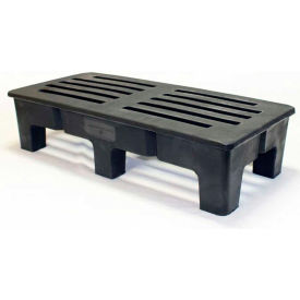 "MasonWays™ 481812 HD PolyMight Dunnage Rack 48""W x 18""D x 12""H, 1500 Lbs. Capacity"