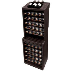"""MasonWays™ WD60 60-Bottle Wine Rack 18-3/4""""W x 15-1/2""""D x 55-1/2""""H"""