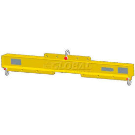 2000 Lb M/&W 60-96 Economy Lift Beam Adjustable Length Capacity