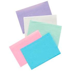 """Defend® PB-8001 Disposable 3-Ply Patient Towels, 13"""" x 18"""", Blue, Case of 500"""
