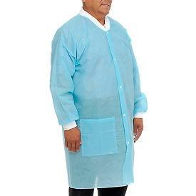"""Disposable Lab Coats - M, 39""""L, 10/Pack"""