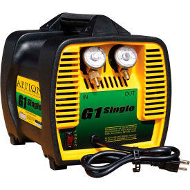 NRP G1SINGLE Portable Refrigerant Recovery Unit Oil-Less Single Cylinder