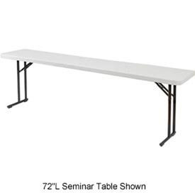 "Blow Molded Seminar Folding Table - 18"" x 60"""